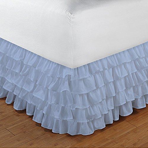Denim Full Bedskirt - 7