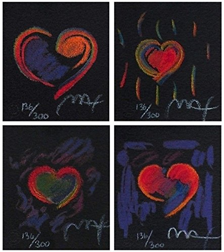 Heart Suite III - Peter Max Painting