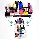 MOKARO 360 Degree Rotating Makeup Organizer for