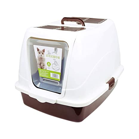 MZP Inodoro WC para Gatos Bandeja Higiénica Caja de Arena ...