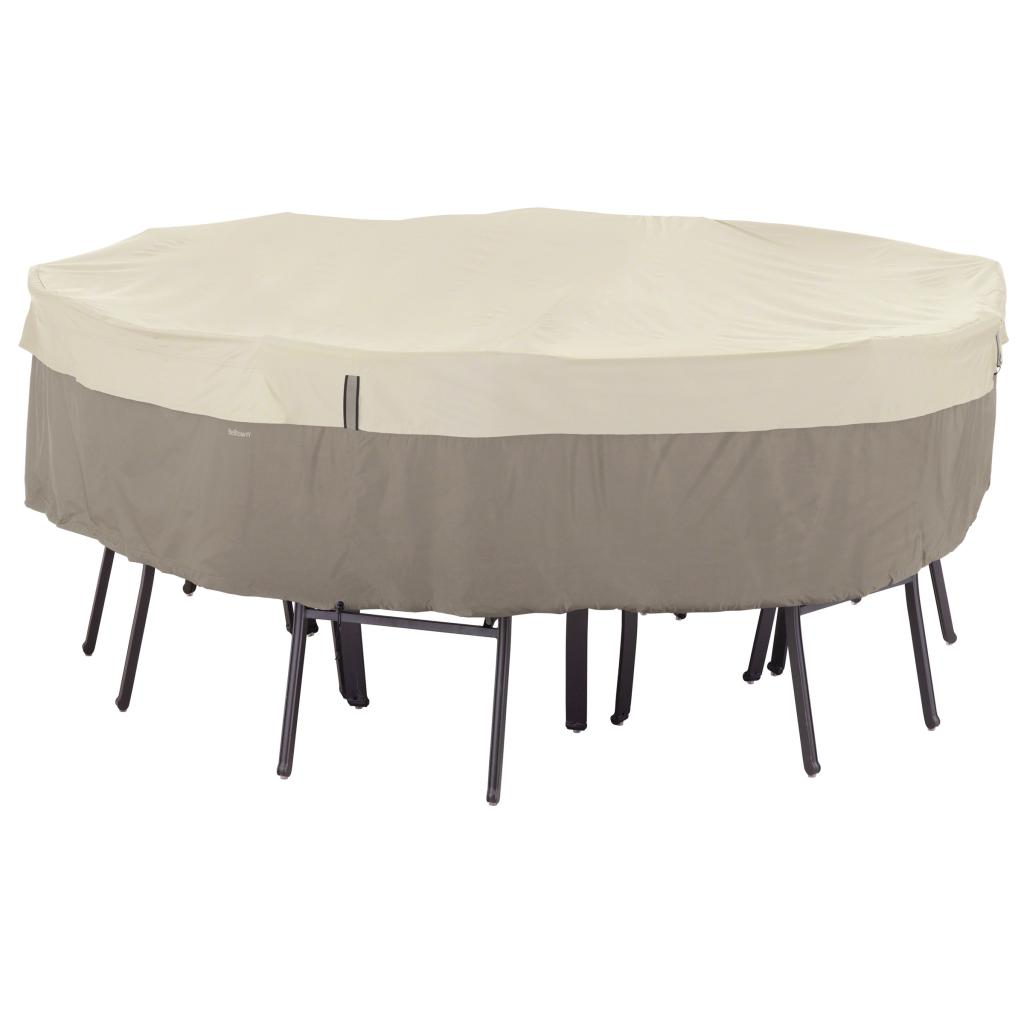 Classic Accessories Belltown Outdoor Round Patio Table Pat