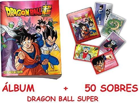 Dragon Ball Super 2020 Caja 50 Sobres (Cromos) + Album: Amazon.es: Juguetes y juegos
