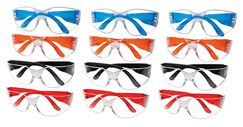 Ultimate UV Protection, Scratch Resistant Clear Lenses Safety Glasses, Pack of 12 by ULTIMATE SAFETY GLASSES (Image #2)