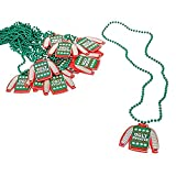 Fun Express Ugly Christmas Sweater Bead Necklaces
