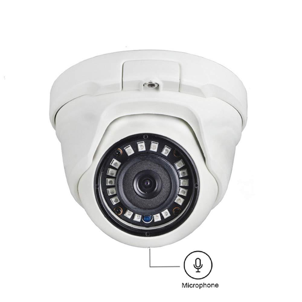 4MP POE Security Camera Outdoor/Indoor,KINGKONGSMART 1440P Video Surveillance Camera,Onvif IP Cam with Audio,IR Night Vision,IP67 Weatherproof,Motion Detection