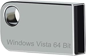 ILamourCar USB Compatible with Windows Vista x64 Home Premium. 16GB for Desktop&PC&Laptop. Reinstall Recovery Repair Full Support - Light Silver