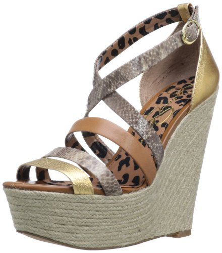 Women's Gold Combo Wedge Jessica Simpson Ulrich vZw5qw1U
