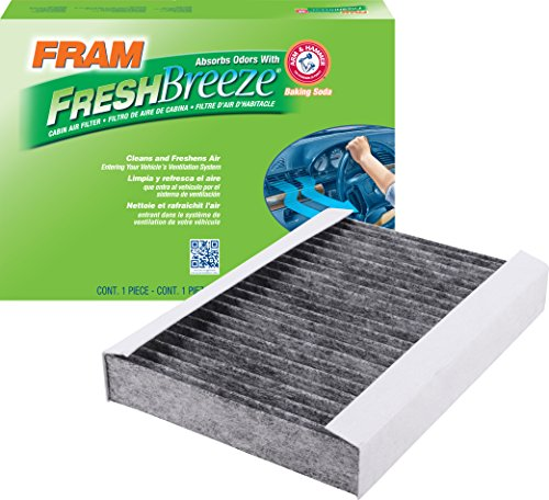 FRAM CF11810 Fresh Breeze Cabin Air Filter with Arm & Hammer