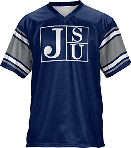 Football State Jackson (ProSphere Jackson State University Men's Football Fan Jersey - End Zone FCF41)