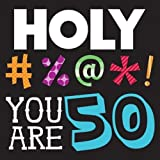 Creative Converting Holy Bleep 50th Birthday Lunch Napkins (Party Pack: 48 Count)