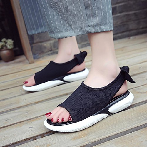 Lolittas Fit Wedge Ladies Black Peep Summer Platform Heel Women Wide Open Low Gladiator Toe Slingback 7 Outdoor 2 Roman Sandals Pantshoes for Size 6w6rqE