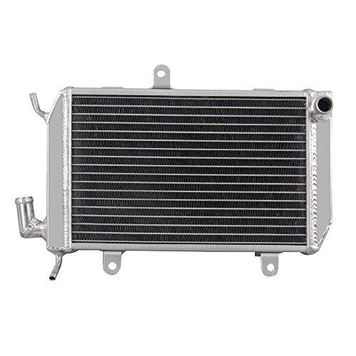 ALLOYWORKS 32mm Core 2 Row Left Aluminum Radiator for Honda Goldwing GL1800 2002-2005 03 ()