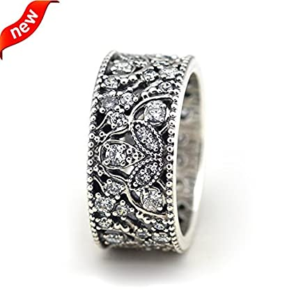 a0a4abd94 Amazon.com: Compatible With Pandora Jewelry 100% 925 Sterling Silver ...