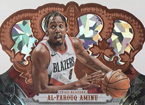 (2017-18 Crown Royale Basketball Crystal #24 Al-Farouq Aminu 81/99 Portland Trail Blazers)