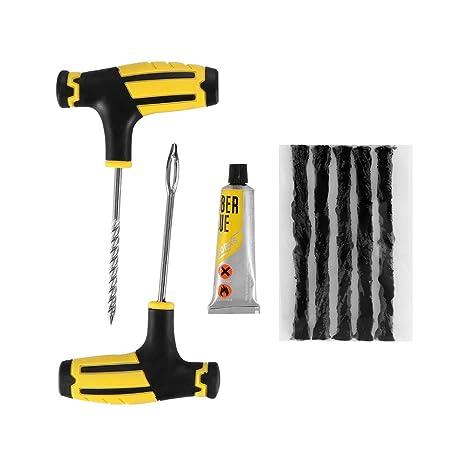 Prenine Herramientas de reparación de automóviles para Autos, Juego de reparación de Llantas de neumáticos