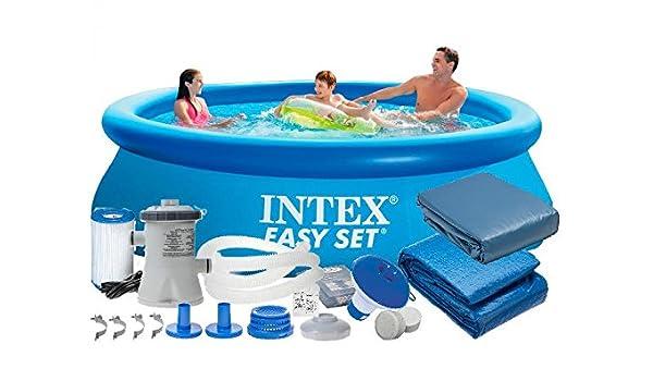 Intex 28122 9 en 1 305 x 76 3853l Pool – Juego Easy – Set de ...