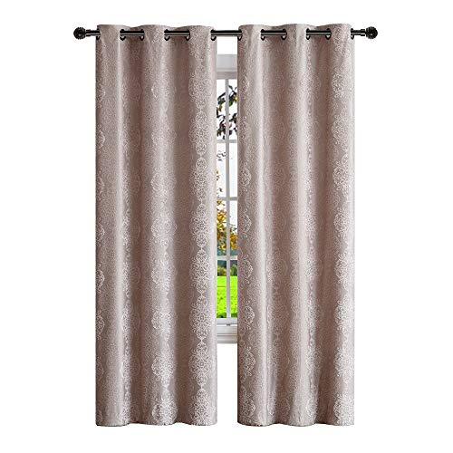 """Warm Home Designs Pair of Standard Length 37"""" x 84"""" Linen  1"""