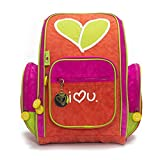 Biglove Small Kids Backpack Love, Multi-Colored, One Size