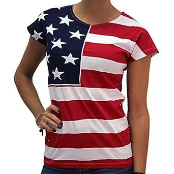 Amazon.com: Flag FR200 - Frank Allover Junior Cut Ladies ...
