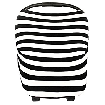 Jersey Stretch Cover Car Seat Canopy Newborn Infant Baby Cover