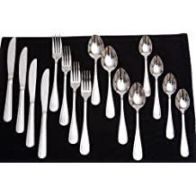Flato Flatware Stainless Steel Cutlery Set,16 Piece
