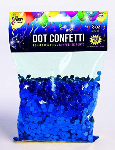 Forum Novelties 8oz Dot Circle Party Confetti Glitter Metallic Birthday Wedding Decoration Table