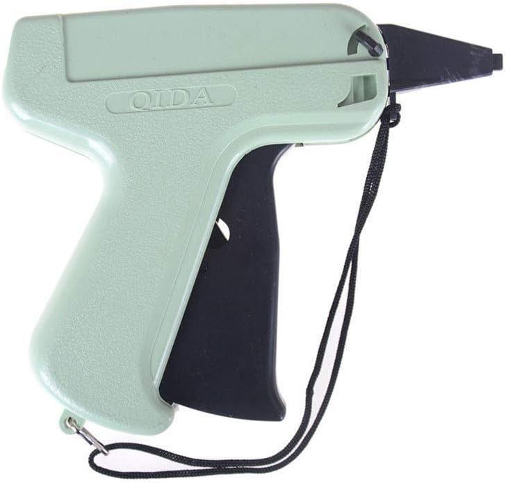 Pistola de etiquetado para ropa con 5 agujas de acero inoxidable y 1000 piezas de 55 mm de grosor para precio est/ándar//etiqueta//lotes BE-TOOL