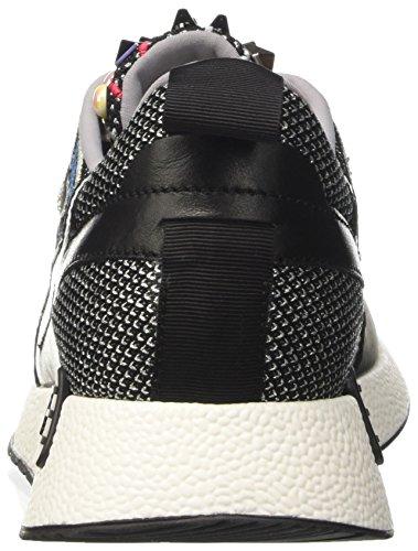 Barracuda a Collo Sneaker 48d Donna Bd0723 Basso Nero 6x6Cqfw