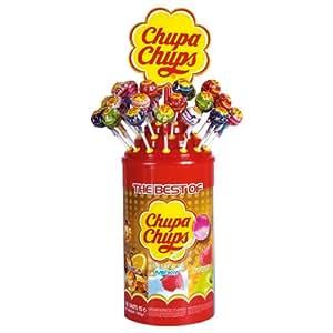Chupa Chups Best de Piruletas, 100 Unidades, 1200 g
