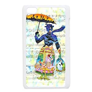 Chinese Mary Poppins High Quality Cover Case for iPod Touch 4,Custom Chinese Mary Poppins Cell Phone Case