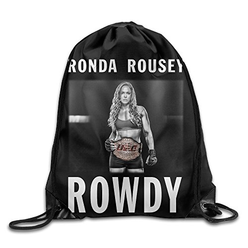 Gym Sackpack Ronda Rousey Wrestling UFC Nylon Home Travel Sport Storage