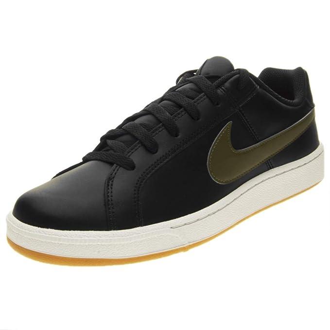 813c2dbe8b Nike Court Royale, Zapatillas de Deporte para Hombre, (Black/Olive Canvas/Gum  Light Brown 008), 42 EU: Amazon.es: Zapatos y complementos