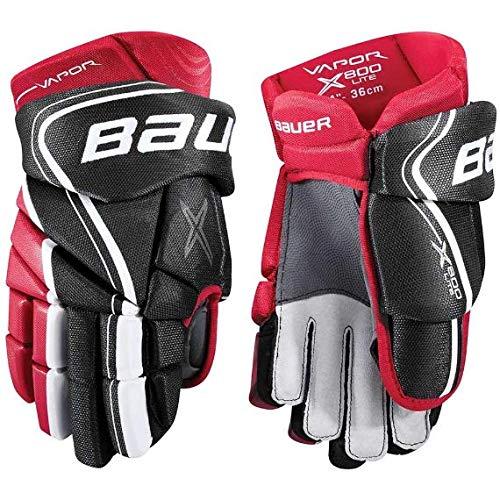 Bauer S18Vapor X800Lite Gants Junior 30,5cm Noir Rouge 5cm Noir Rouge