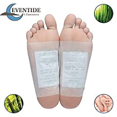 ► About  Our foot pads are designed to improve as many areas of your body's health as possible using only the best, top-quality natural ingredients. ► Content  50 Foot Pads  50 Adhesive Sheets ► Ingredients  Bamboo vinegar, chitosan, dextrin,...