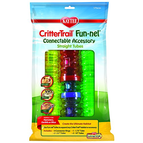 Kaytee CritterTrail Fun-nels Tubes Accessories Value (Crittertrail Funnels Tube)