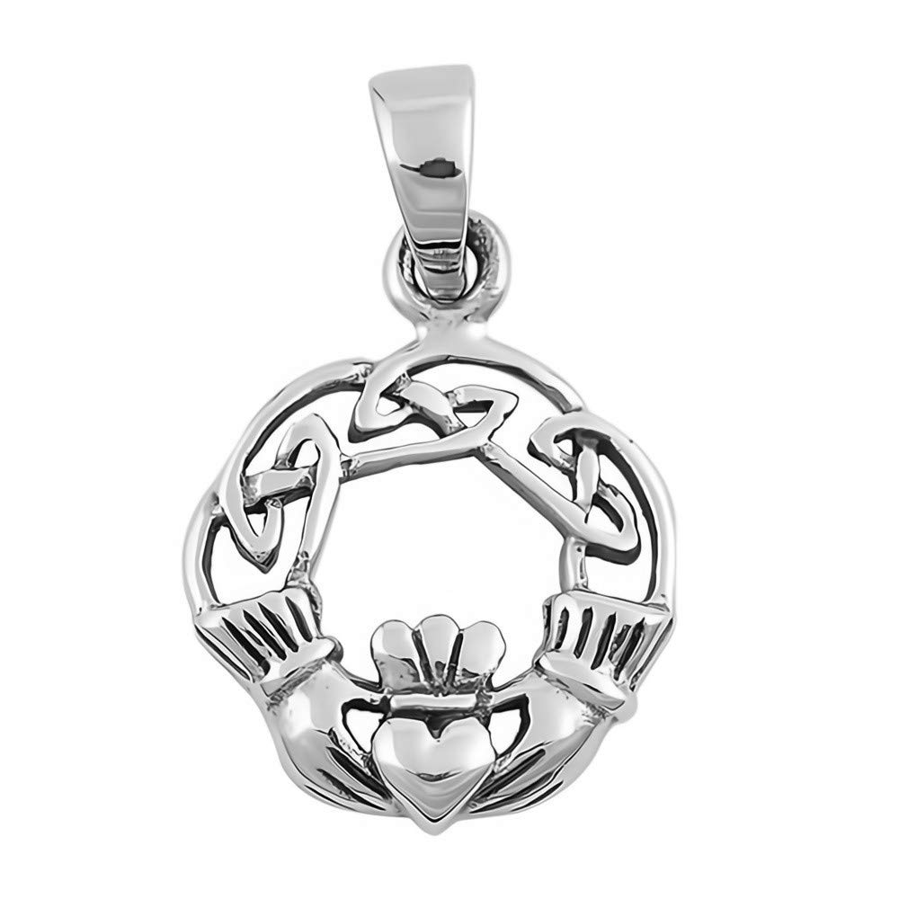 Cross Cute Gift for Women Glitzs Jewels 925 Sterling Silver Pendant for Necklace
