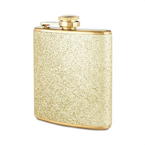 Sparkletini Stainless Steel Gold Flask by Blush by Blush
