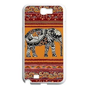Personalized New Print Case for Samsung Galaxy Note 2 N7100, Indian Elephant Phone Case - HL-R644710 wangjiang maoyi