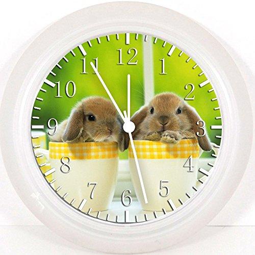 Rabbit Clock (New Rabbit Bunny Wall Clock 10
