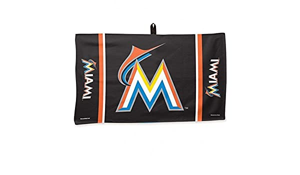 MLB Miami Marlins Waffle Toalla de Golf 14