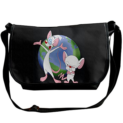 [Pinky And The Brain Animaniacs Athletic Shoulder Backpack Sack Pack Cross Body] (Freakazoid Costume)