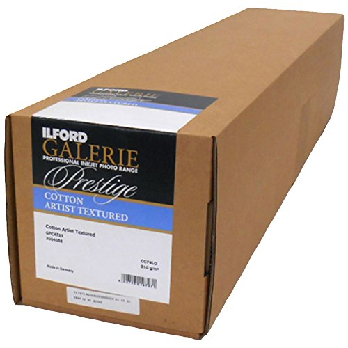 ILFORD 2004056 GALERIE Prestige Cotton Artist Textured - 24 Inches x 49 Feet Roll by Ilford