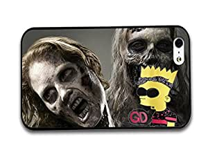 Tomhousomick Custom Design The Walking Dead Case for iPhone 5 5S Phone Case Cover #52