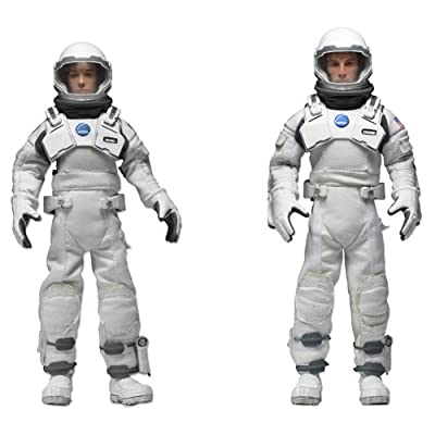 "NECA Interstellar 8"" Clothed Action Figure (2-Pack): Toys & Games"