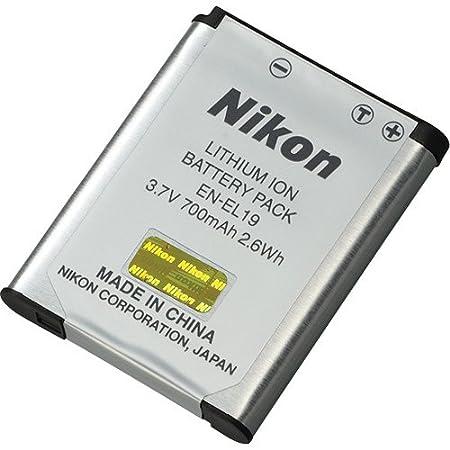 Original Nikon EN-EL19 ENEL19 Battery for Coolpix Cameras <span at amazon
