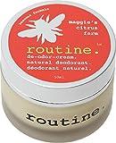 Routine De-Odor-Cream Handcrafted 50ml Clay Formula Deodorant Cream (Maggie's Citrus Farm)