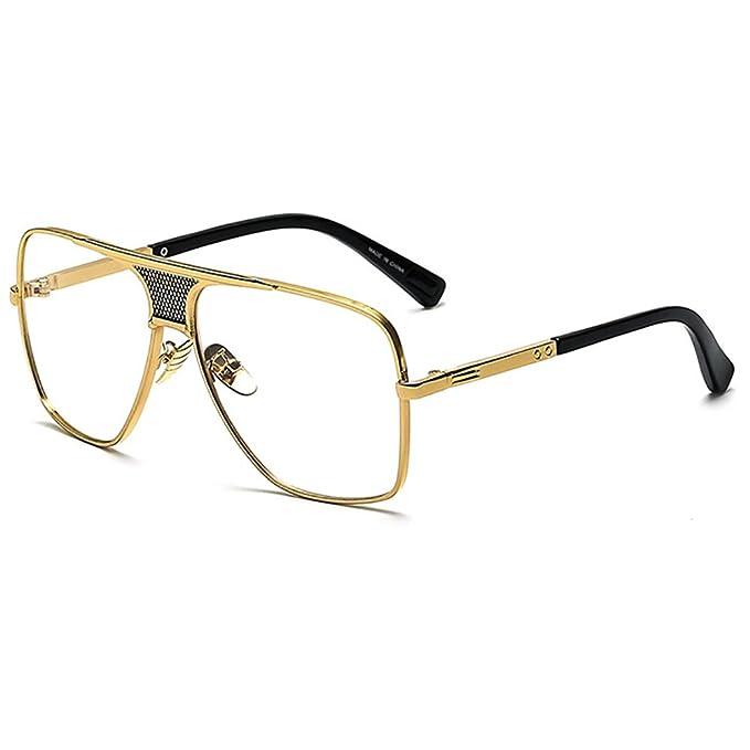 Grande Gafas de sol Aviator para hombres mujeres vintage Gafas ...