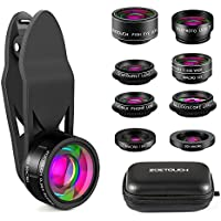 ZOETOUCH Cell Phone Camera Lens, Camera Lens Kit 9 in 1...