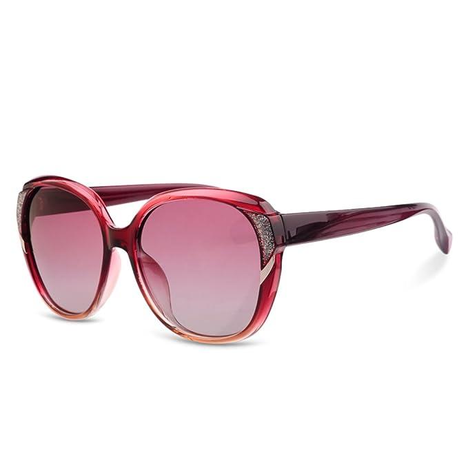 ZWX Gafas de sol de las señoras/Gafas de protección solar de ...