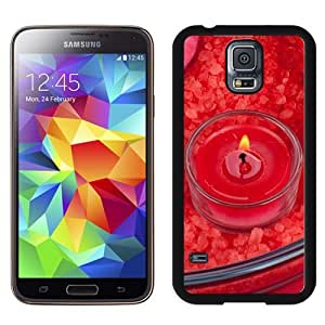 New Beautiful Custom Designed Cover Case For Samsung Galaxy S5 I9600 G900a G900v G900p G900t G900w With Red Candle Phone Case